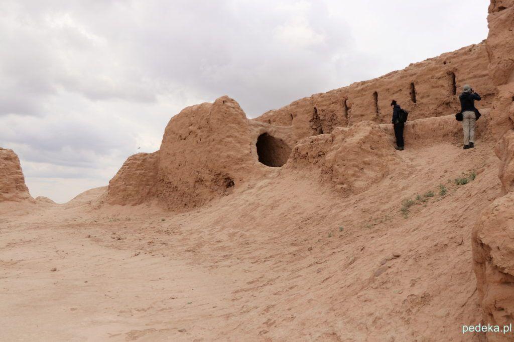 Wycieczka z Chiwy na Pustynię Kyzył-kum. Ruiny