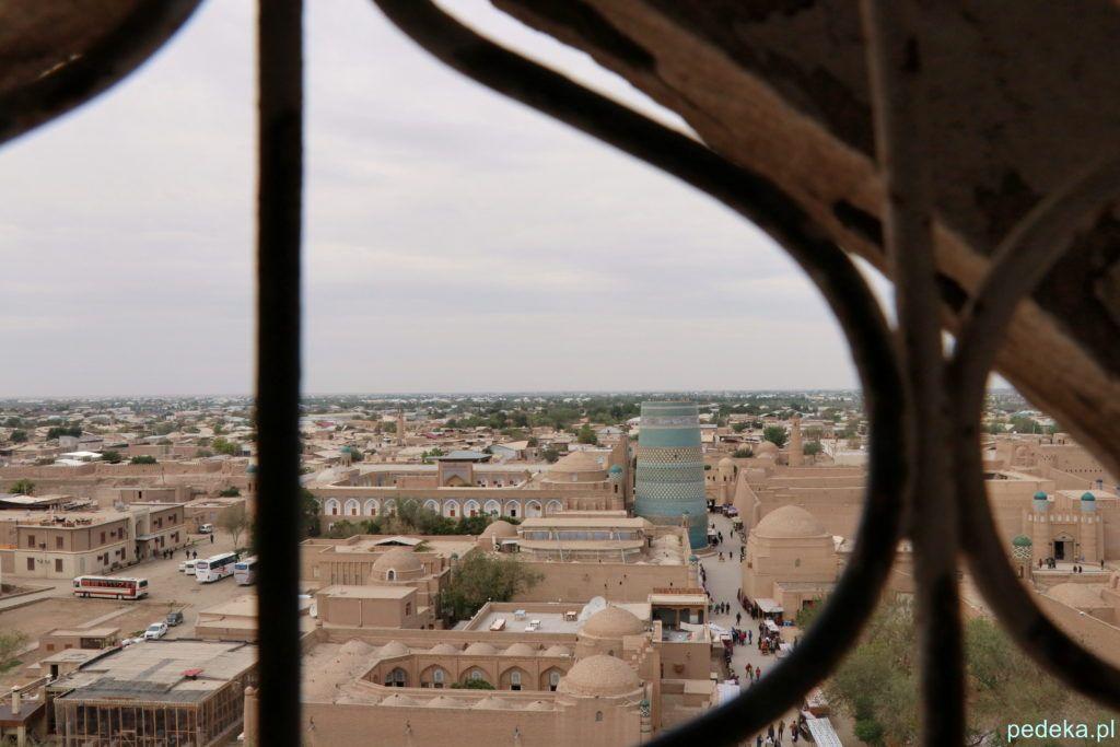 Widok z minaretu