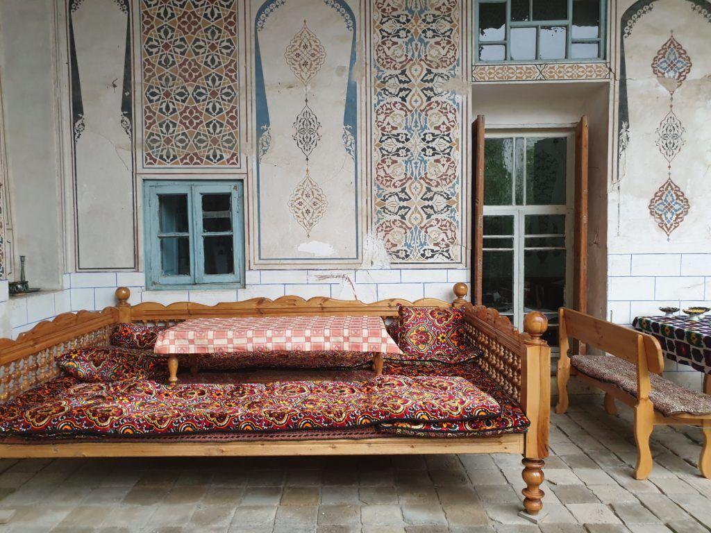 Samarkanda dzień ostatni. Patio