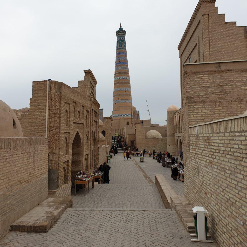 Minaret, na który weszliśmy