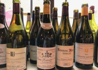 Butelki po burgundach