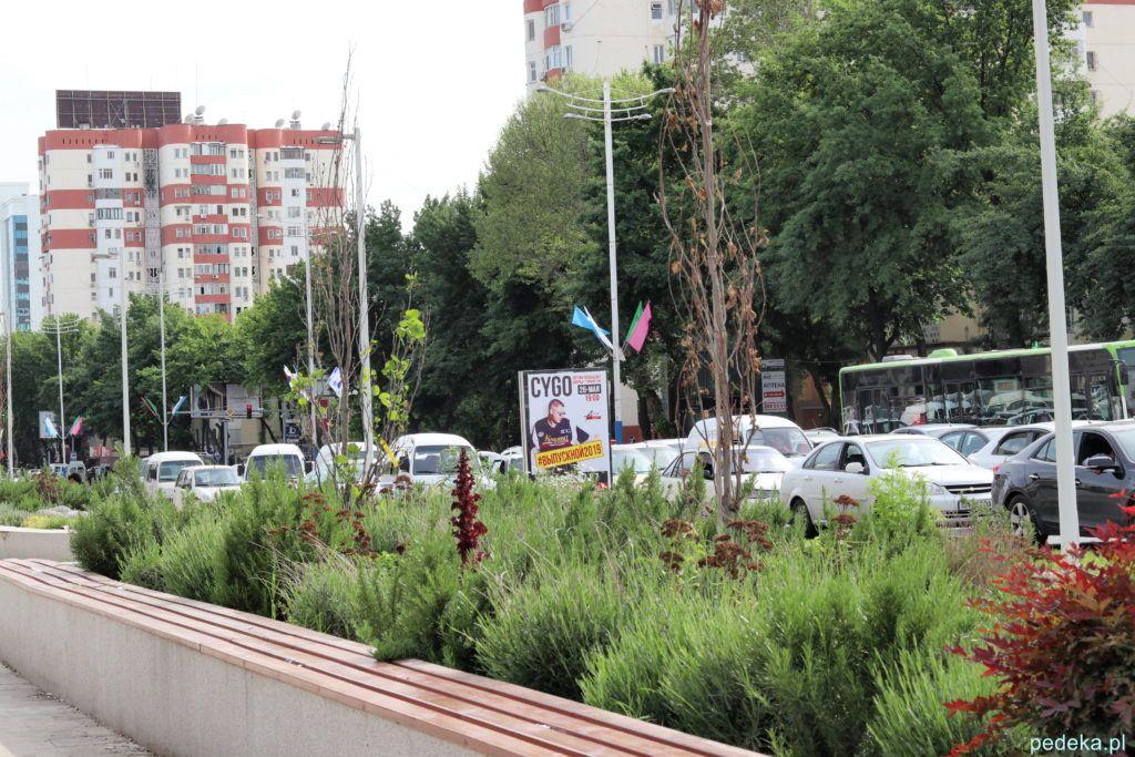 Taszkient. w centrum miasta