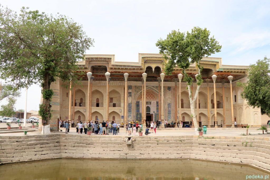 Buchara dzień ostatni. Meczet Bala Hauz