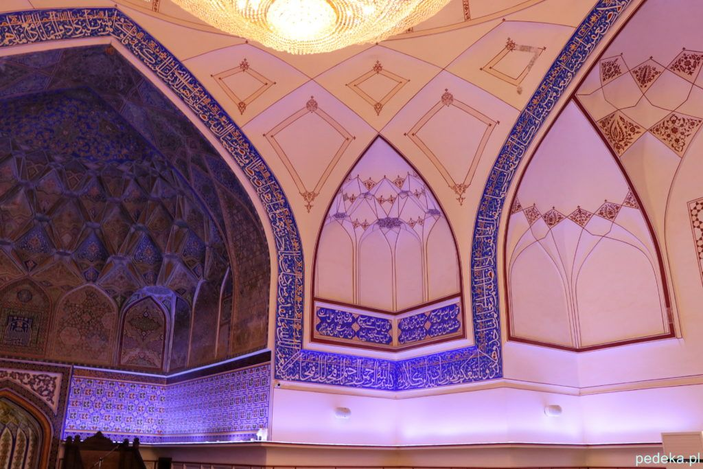 Buchara dzień ostatni. Meczet w środku