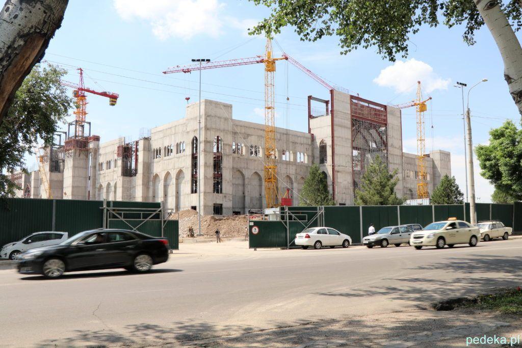 Taszkient. Budowa ogromnego centrum islamu