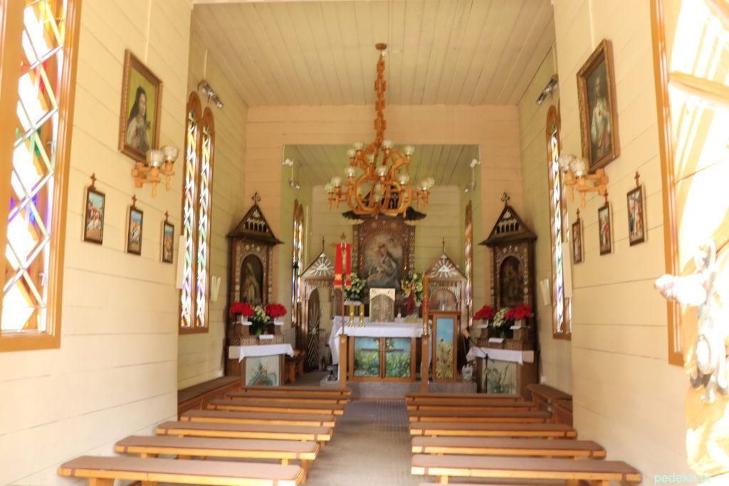 Ojców. Wnętrze kaplicy