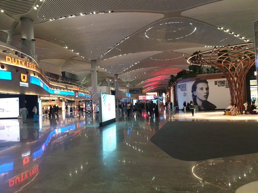 Piękne, nowe lotnisko w Stambule