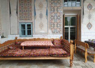 Patio w hotelu w Bucharze