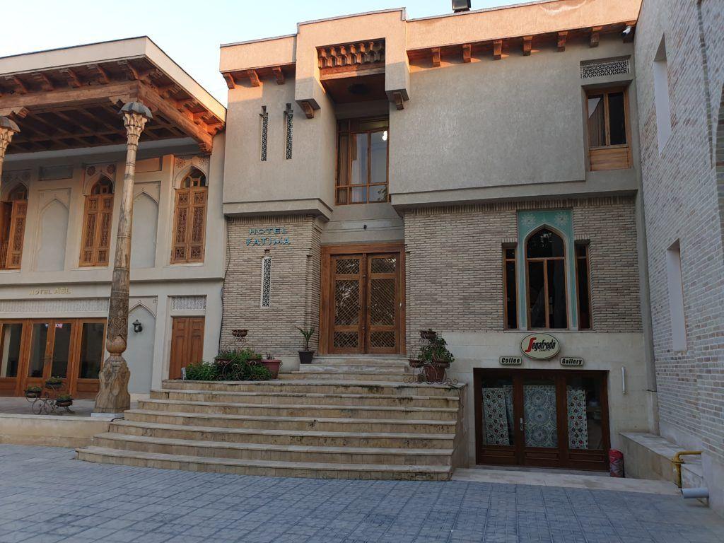 Nasz hotel w Bucharze