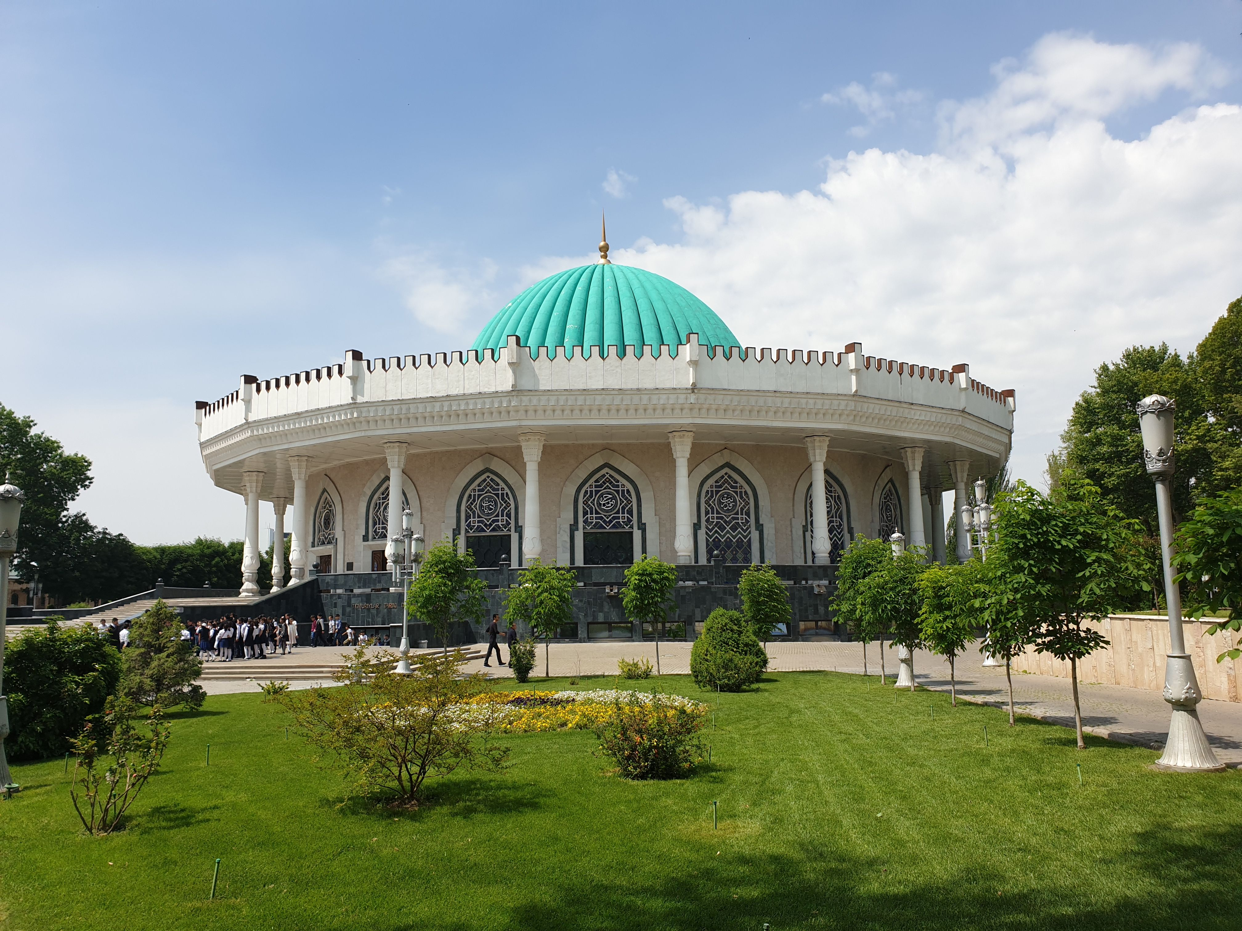 Siedziba muzeum Timura