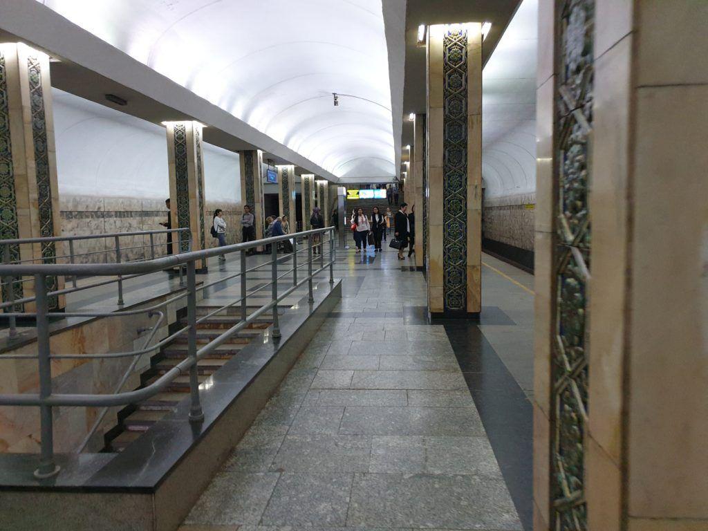 Taszkient. Jedna ze stacji metra