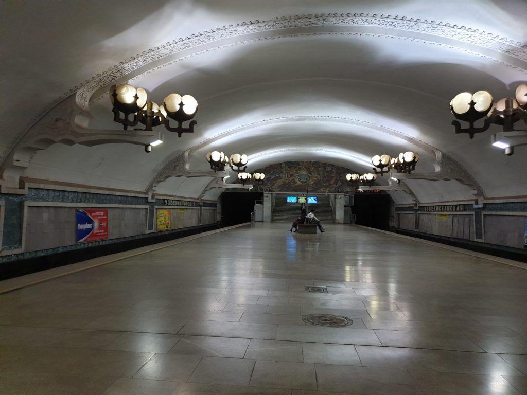 Taszkient. Jeszcze jedna stacja metra