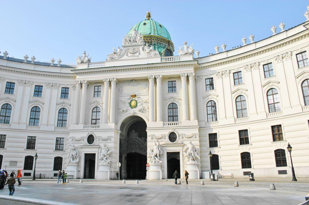 Jeden dzień w Wiedniu. Hofburg