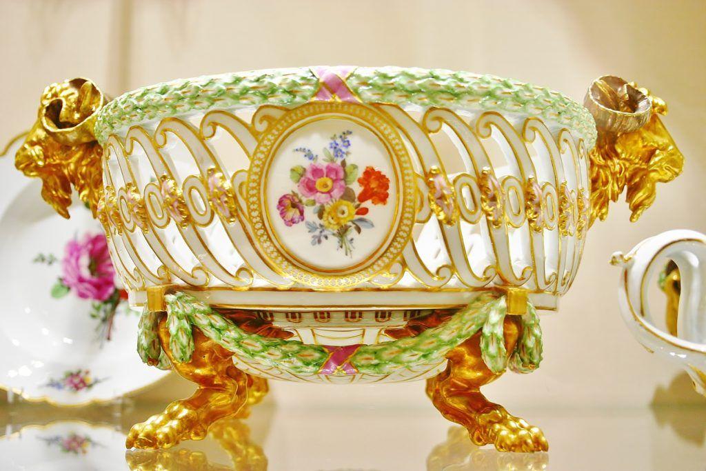Jeden dzień w Wiedniu. Kolekcja porcelany