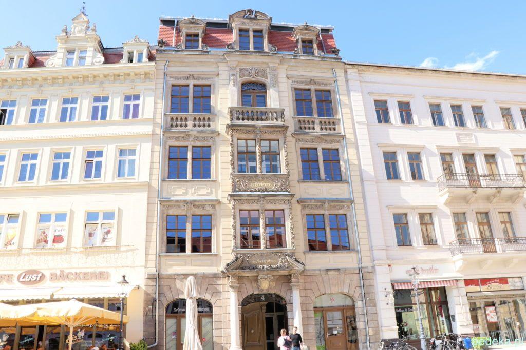 Żytawa, czyli Zittau, bogate kamienice w Rynku