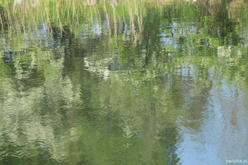 Węgorzewo, nad kanałem w wersji impresjonistycznej
