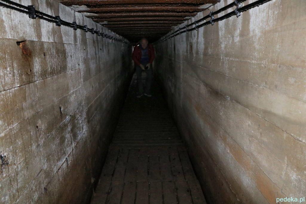 Mamerki. Marcin w tunelu