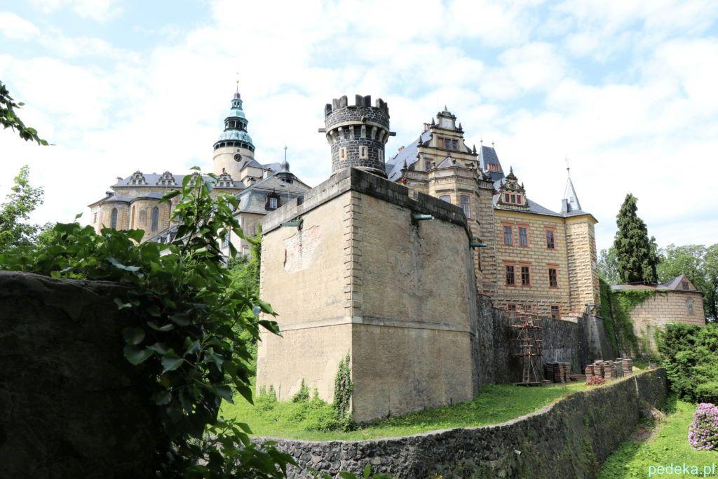 Zamek Frydlant w Czechach. Zamek z jeszcze innej perspektywy