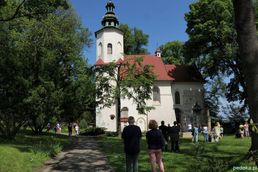 Krakowski Zwierzyniec. Kościół św. Salwatora