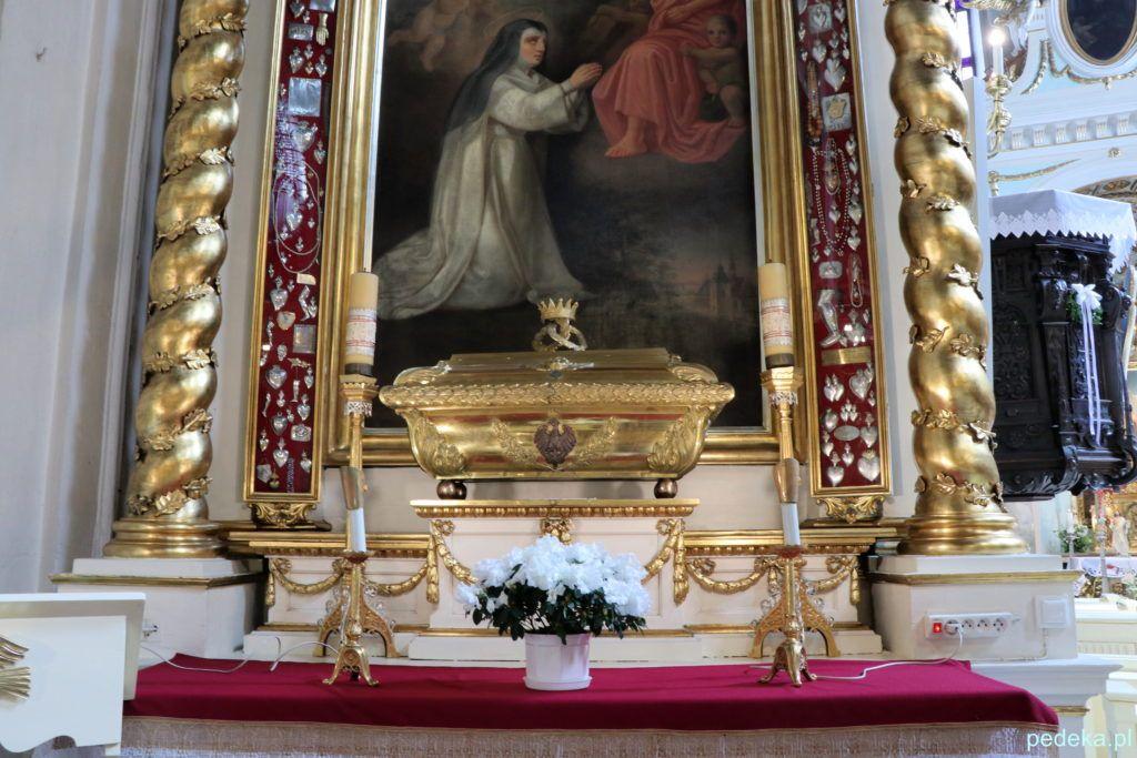 Krakowski Zwierzyniec. Relikwiarz w kościele przy klasztorze Norbertanek