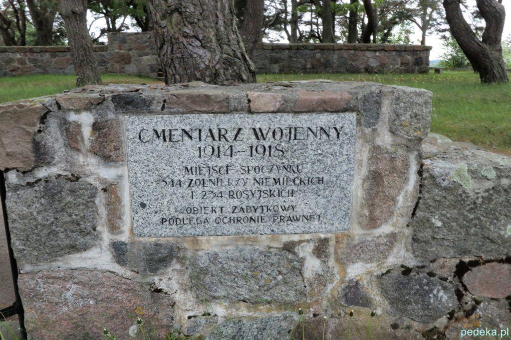 Węgorzewo. Cmentarz wojenny