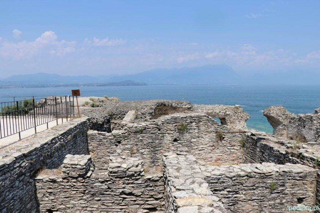Sirmione. ruiny rzymskiej willi