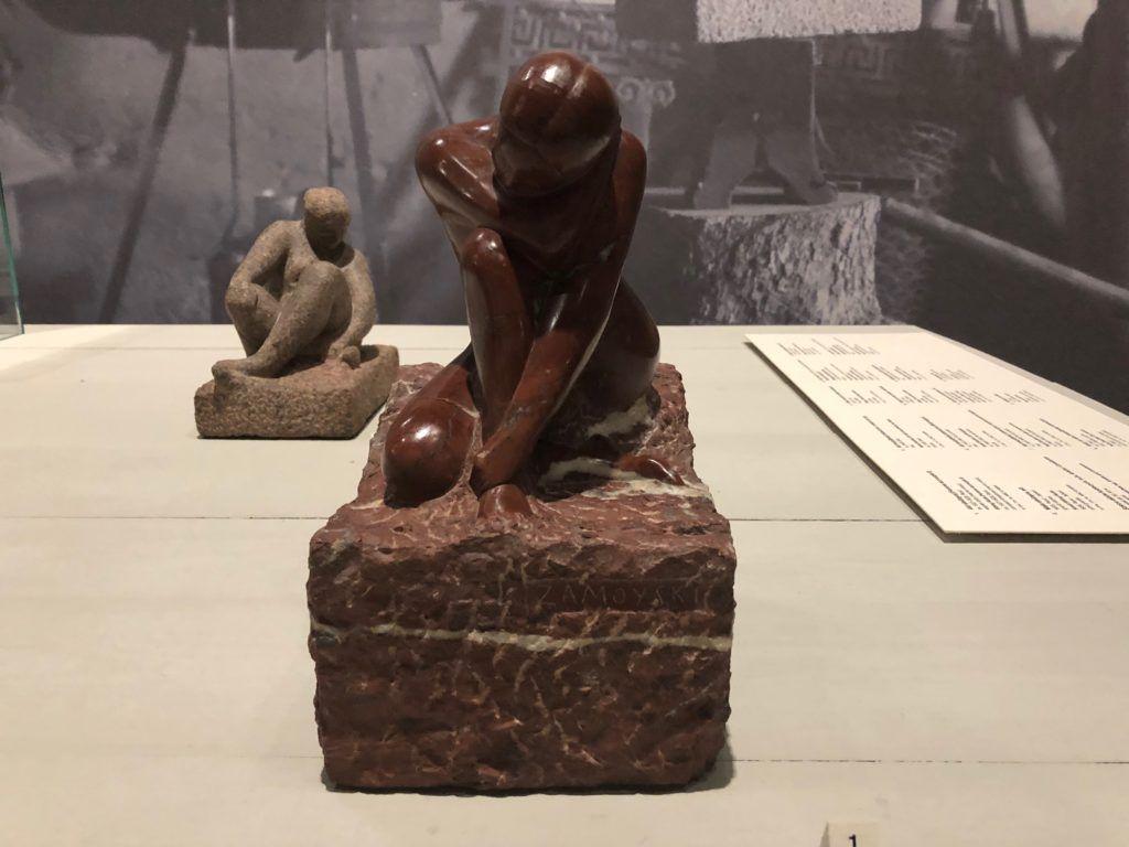 Dwie wystawy w Muzeum Narodowym. Rzeźba Akt siedzącej z kolekcji Augusta Zamoyskiego