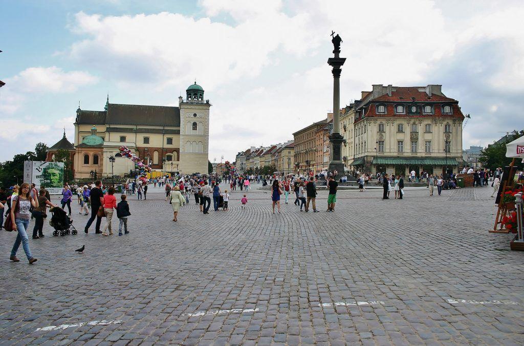 Weekend w Warszawie. Plac Zamkowy