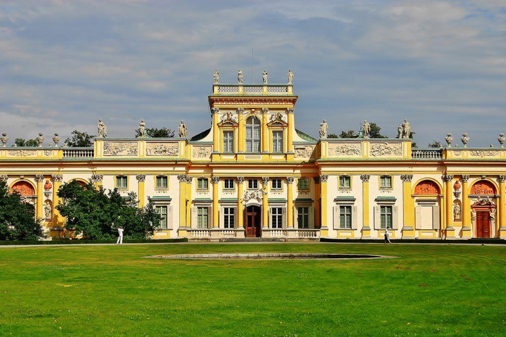 Weekend w Warszawie. Pałac w Wilanowie
