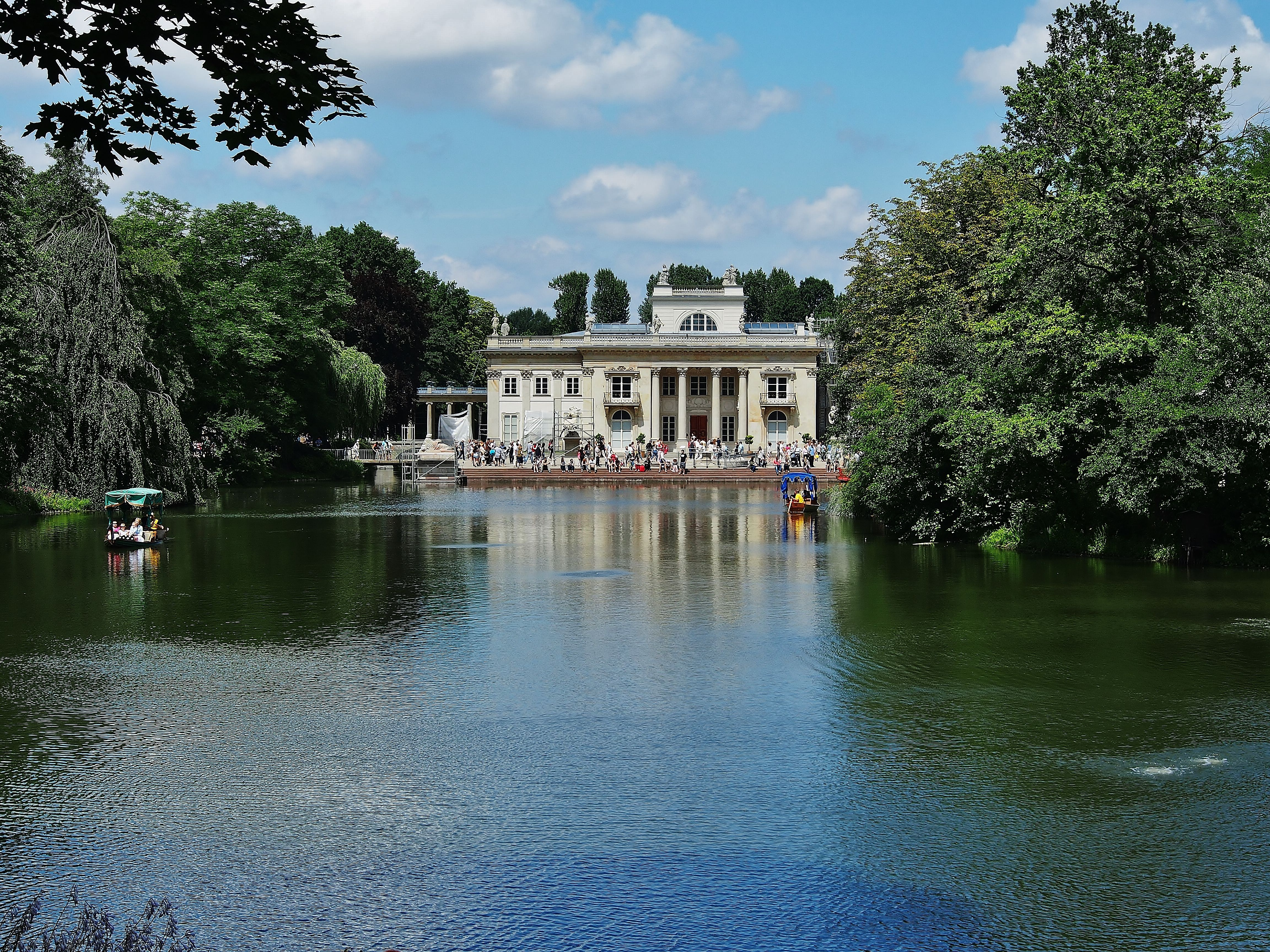 Weekend w Warszawie. Łazienki Królewskie, Pałac na Wodzie