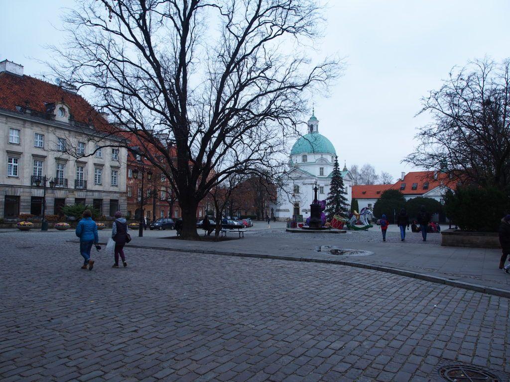 Weekend w Warszawie. Rynek Nowego Miasta