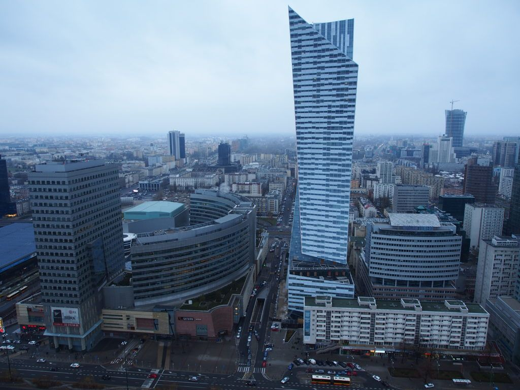 Weekend w Warszawie. Widok z XXX piętra PKiN