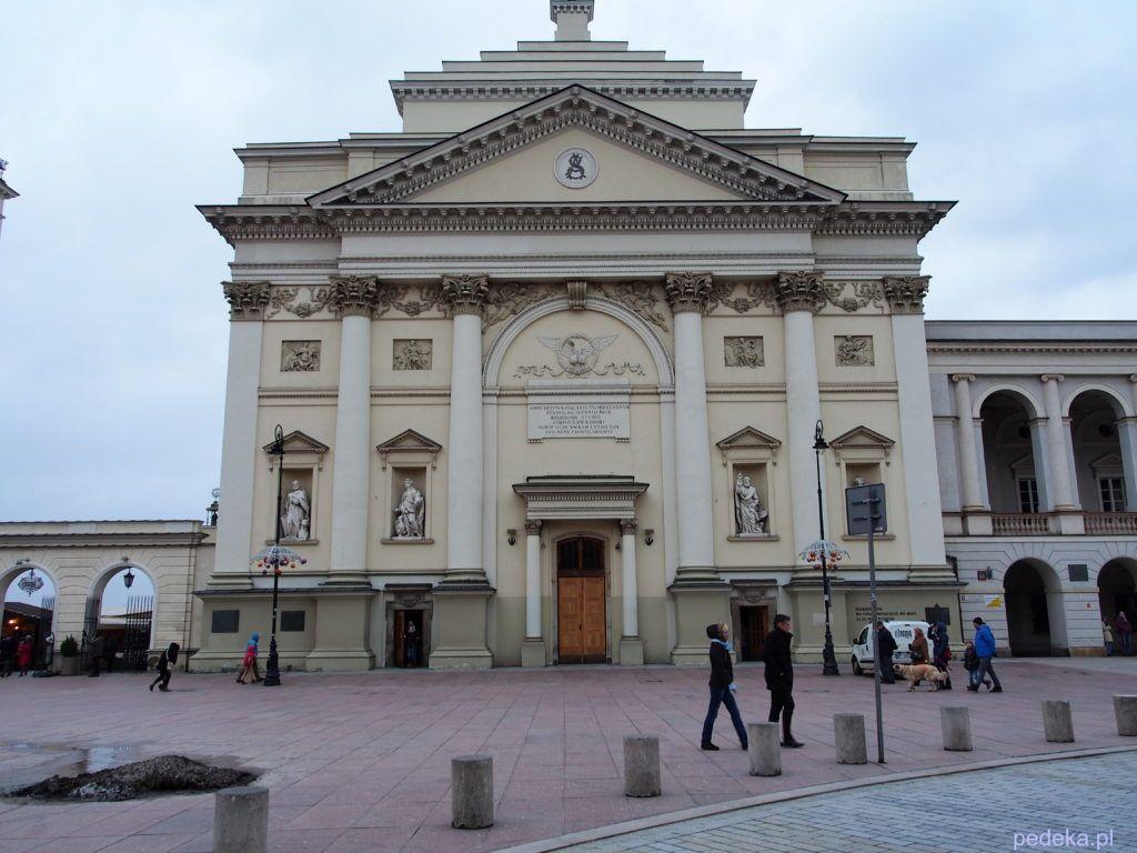 Weekend w Warszawie. Kościół św.Anny