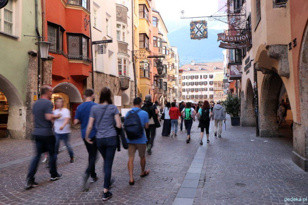 Innsbruck. Na starym mieście