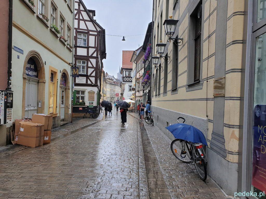 Kolejna ulica w Bambergu