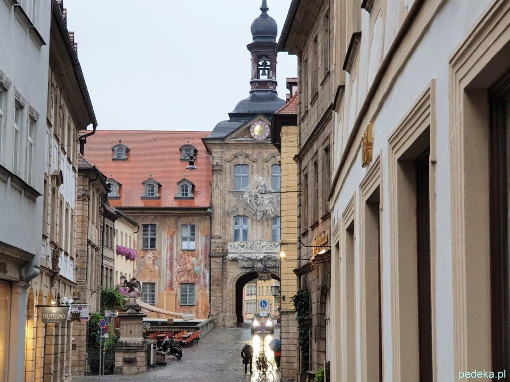 Bamberg. Ratusz