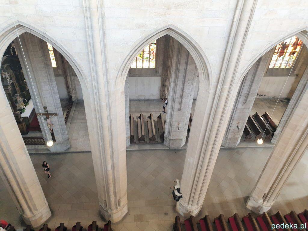 Kościół widziany z góry