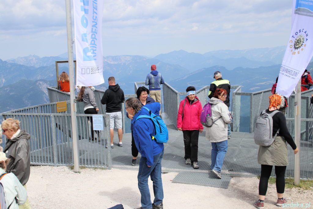 Platforma widokowa w Alpach