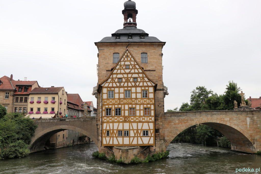 Bamberg. Stara część ratusza