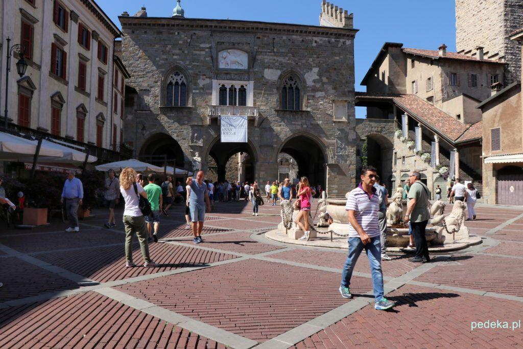 Bergamo. Plac Viecchia
