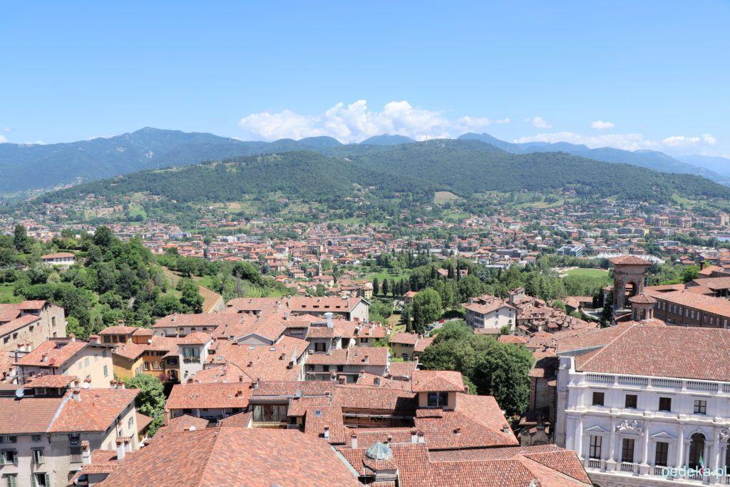 Bergamo. Też widok z góry