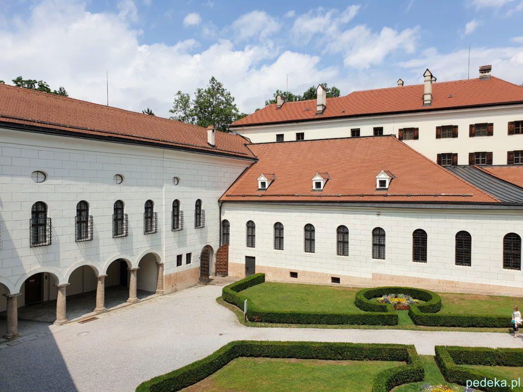 Ogród na zamku Ambras