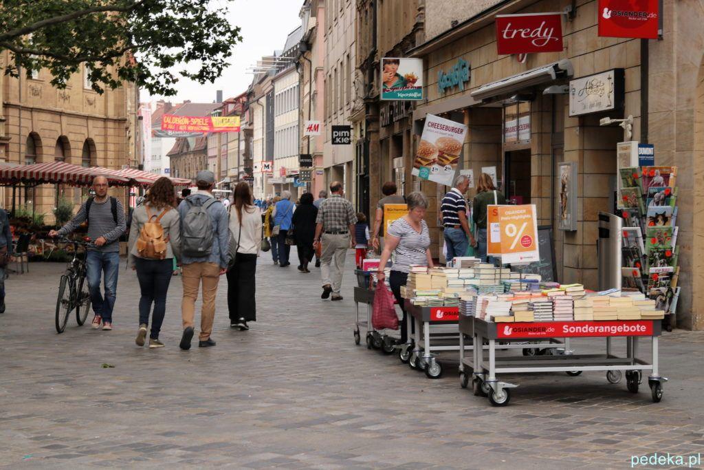 Bamberg. Ulica handlowa