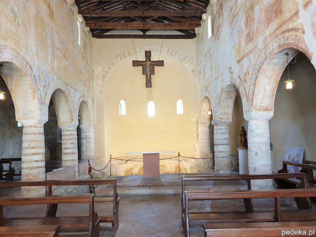 Wnętrze kościoła św. Sewera