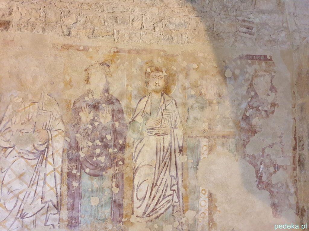 Fresk w kościele św.Sewera w Bardolino