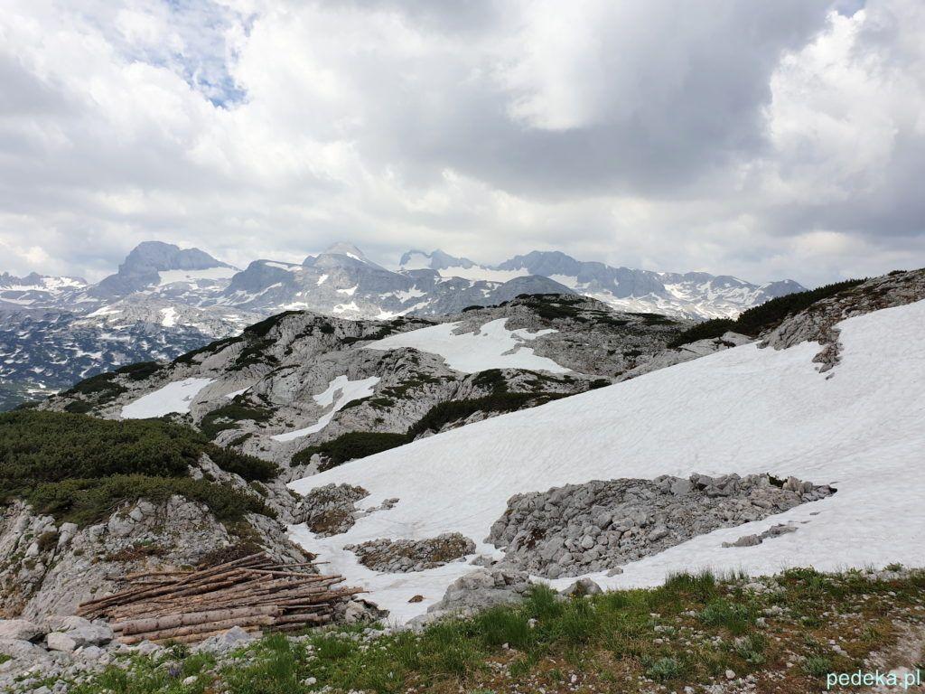 Dachstein Krippenstein, Widok na góry