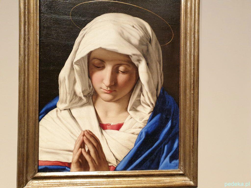 Sassoferrato Modląca się Madonna