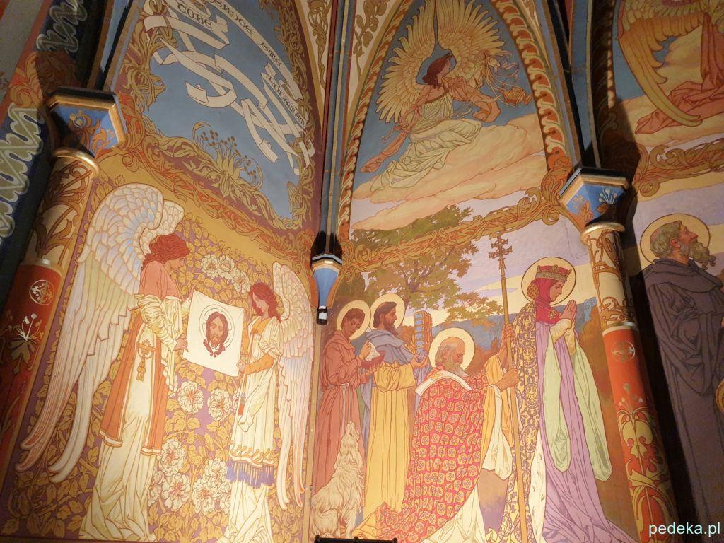 Malowidła w kaplicy