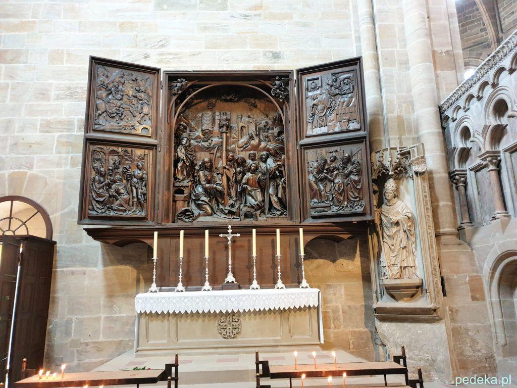 Bamberg. Ołtarz Wita Stwosza w katedrze