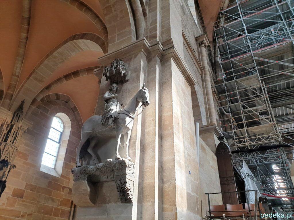 Rzeźba jeźdźca bamberskiego